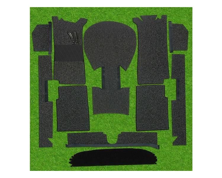 Moquette de sol pour BMW 1502 - 1602 - 1802 - 2002 ti et tii 1966-1977