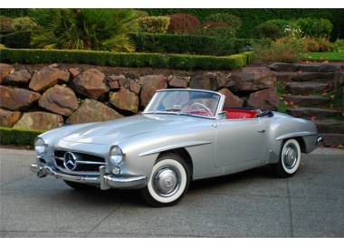 Mercedes-Benz 190 SL W121 cabriolet from 1956–1962 (only LHD)
