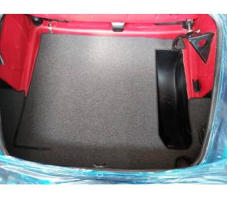 Trunk carpet kit for Mercedes-Benz 190 SL W121 cabriolet from 1956–1962 (only LHD)
