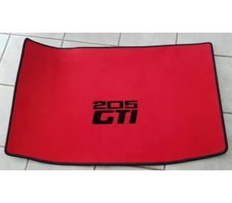 Car boot carpet for Peugeot 205 GTI