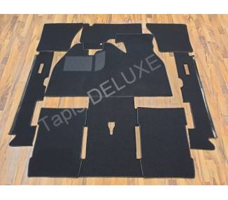 Complete interior carpet kit for VW Käfer Mexico with foot support from 1985-2003 (only LHD)