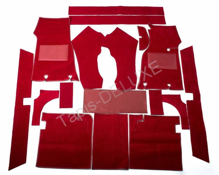 Complete interior carpet kit for Jaguar S-Type from 1963-1968 (only LHD)
