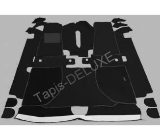 Complete interior carpet kit for Jaguar XJS HE 3.6 and 4.2 L coupe series 2 from 1983-1991 (LHD & RHD)