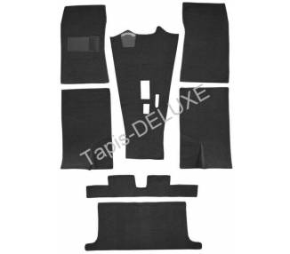 Complete interior carpet kit for Datsun Sports Roadster SPL 311 from 1966-1970 (only LHD)