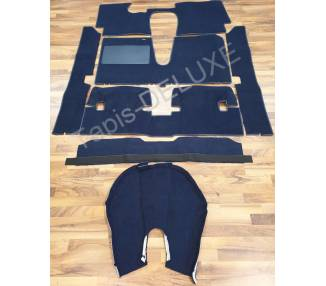 Complete interior carpet kit for Lancia Fulvia Sport Zagato from 1965-1972 (only LHD)