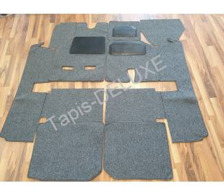 Complete interior carpet kit for Maserati Bora with trunk (only LHD)