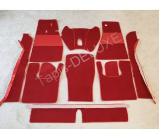 Complete interior carpet kit for Skoda Felicia cabrio 1962-1965 (only LHD)