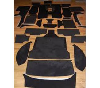Complete interior carpet kit for TVR Serie M, TVR2500M & TVR3000M 1972-1979 (only LHD)