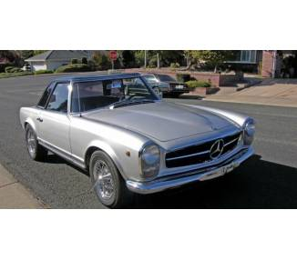 Complete interior carpet kit for Mercedes Benz W113 Pagode California coupe (only LHD)