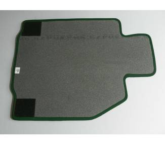 Carpet mats for Porsche Boxster 986 (only LHD)