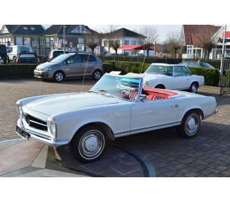 Moquette de sol pour Mercedes-Benz Pagode SL W113 manuelle sans strapontin 1963-1971