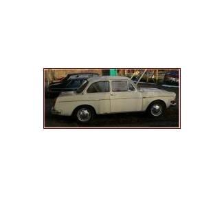 Moquette de sol pour VW 1500/1600 limousine type 3 version longue + TL  08/1961-07/1967