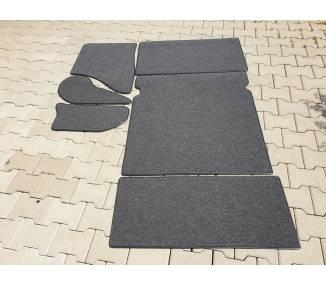 Complete interior carpet kit for Skoda Oktavia Limousine 1959-1965 (only LHD)