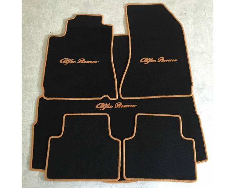 Tapis de sol et de coffre pour Alfa Romeo 147 de 2001-2010