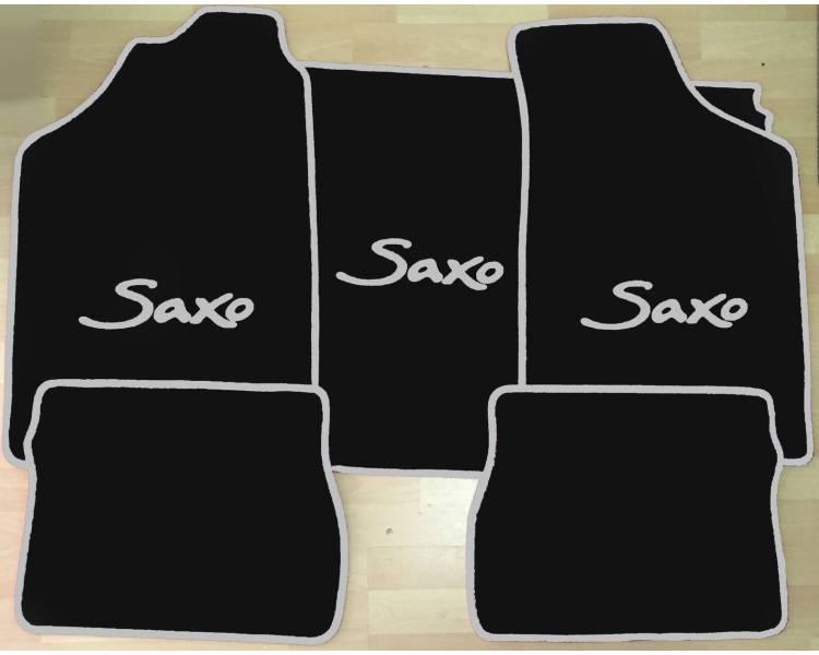 Tapis de sol et de coffre pour Citroen Saxo 1996-2004