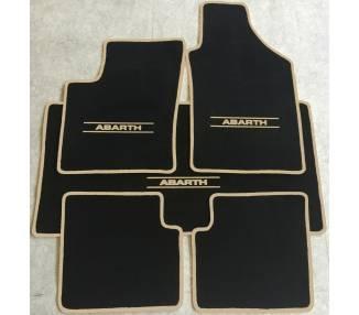 Tapis de sol et de coffre pour Fiat 500 et Abarth à partir de 2007