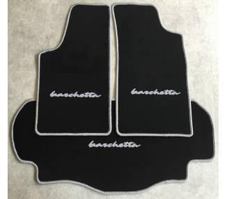 Tapis de sol et de coffre pour Fiat Barchetta 1995-2005