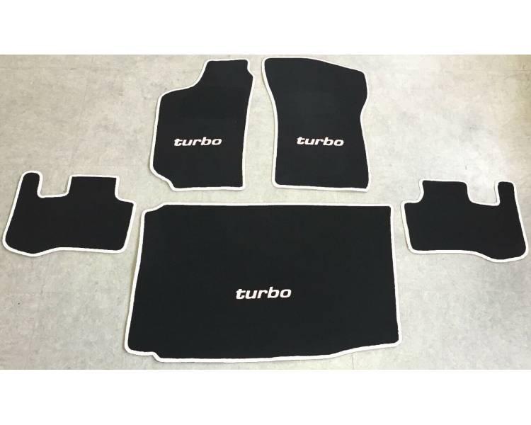 Tapis de sol et de coffre pour Fiat Coupe + Turbo 16V + 20V 1994-2000