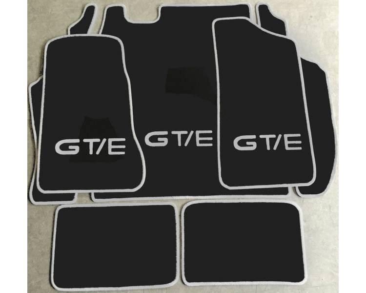 Tapis de sol et de coffre pour Opel Kadett C coupé GTE 1974-1979
