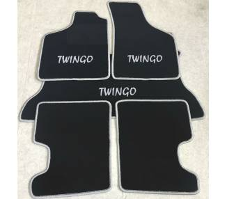 Tapis de sol et de coffre pour Renault Twingo I 1993-2007