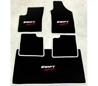Tapis de sol et de coffre pour Suzuki Swift Sport type MZ EZ 2005-2010