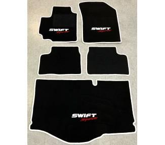 Tapis de sol et de coffre pour Suzuki Swift Sport 3 type FZ 7 NZ 2011-2017