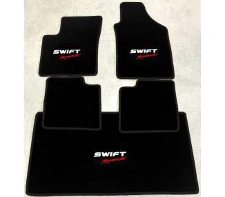 Tapis de sol et de coffre pour Suzuki Swift Sport type AZ  à partir de 2017