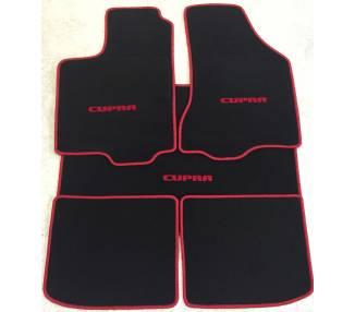 Tapis de sol et de coffre pour Seat Ibiza type 6K cupra 1993-2002