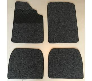 Carpet mats for BMW 1600-2,1502-1602-1802-2002- Ti- Tii 1966-1977 (only LHD)