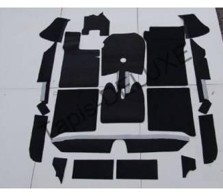 Complete interior carpet kit for BMW 1800 - 1800Ti - 1800Ti/SA Typ E1 1963-1971 (only LHD)