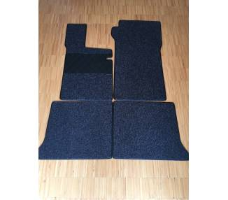 Carpet mats for BMW 1500-1600 Type E1 1961-1966 (only LHD)
