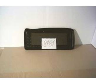 Boot mat for Fiat Cinquecento de 1992-1997