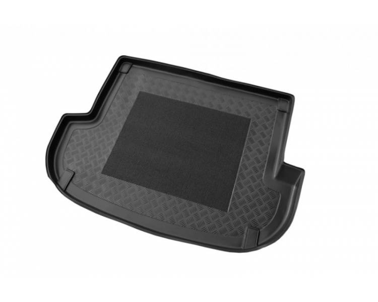 Boot mat for Hyundai Santa Fe de 2006-2012 5 places
