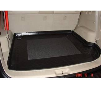 Boot mat for Hyundai Santa Fe de 2006-2012 7 places
