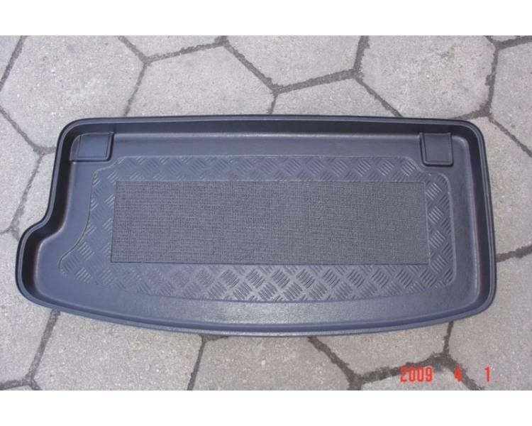 Boot mat for Hyundai i10 à partir de 2008- coffre en position haute