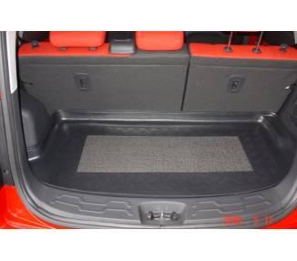 Kofferraumteppich für Kia Soul Fliesheck 5-türig ab Bj. 02/2009- erhöhte Ladeflläche
