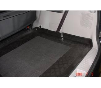 Boot mat for Mitsubishi Grandis 3eme rangé de sieges repliée à partir de 2003-