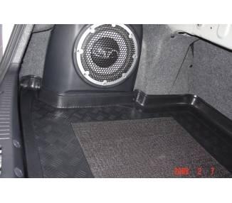 Tapis de coffre pour Mitsubishi Lancer avec subwooder à gauche à partir de 10/2007-