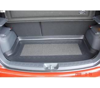 Boot mat for Mitsubishi Colt 5D 5 portes à partir du 11/2008-