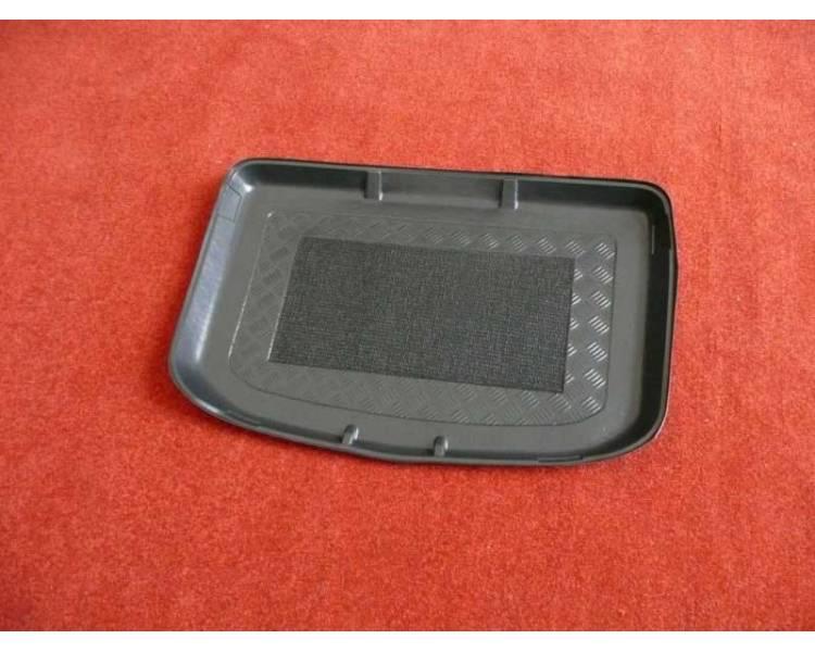 Boot mat for Audi A1 du 09/2010- coffre haut