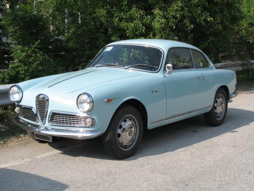 Alfa Romeo Giulietta Sprint und Giulia Sprint Typ 750 1954-1958