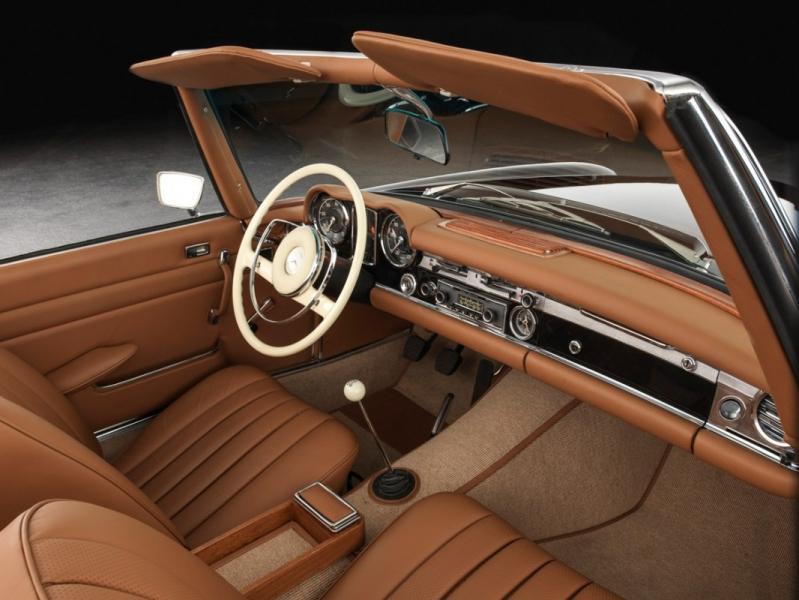 Moquette individuelle de restauration pour mercedes benz for Moquette voiture ancienne