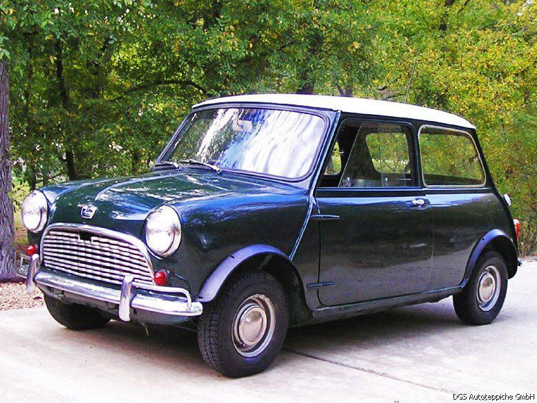 Moquette individuelle de restauration pour austin mini for Moquette voiture ancienne